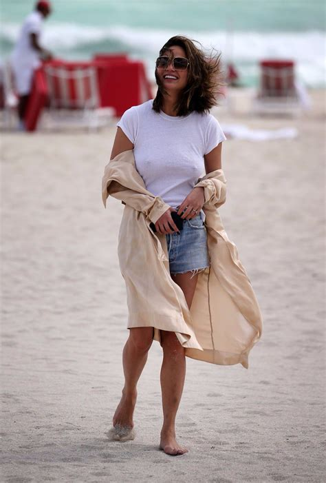 chrissy teigen hard nipples   beach  miami