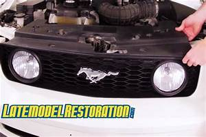 How To Remove  U0026 Install Mustang Front Bumper  05
