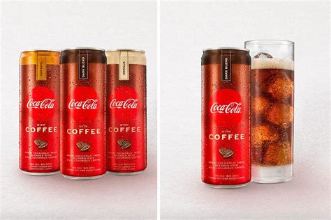 The soda is only available in australia, vietnam, cambodia, and thailand. Coca-Cola with Coffee Is Officially Rolling Out This January