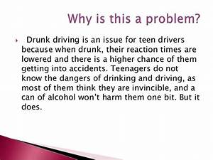 drinking and driving essay introduction