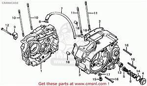 Honda Xl125 K0 Usa Crankcase