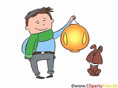 Clipart Laternenumzug Laternenfest Bild Parade Festival Lantern