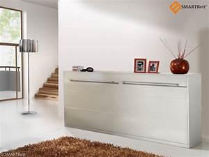 Www Schrankbetten De : klappbett gaestebett schrankbett smartbett 90cm horizontal ~ Sanjose-hotels-ca.com Haus und Dekorationen