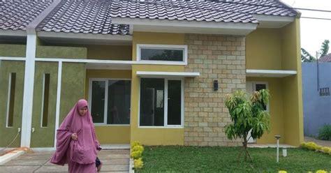 rumah minimalis cantik strategis perumahan townhouse kgr serab depok