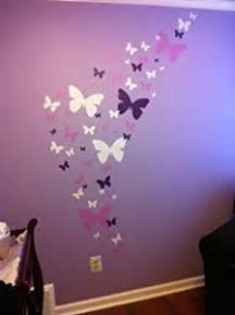 butterfly wall decals lavendar lilac white matte finish appliques 39 for girls room decor