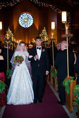 bride wore snowflakes vogue