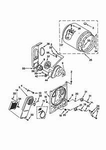 Kenmore 11060622990 Dryer Parts