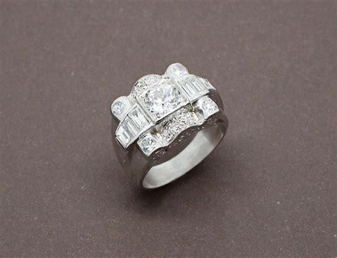 bague d 233 co platine diamants benoit joaillier