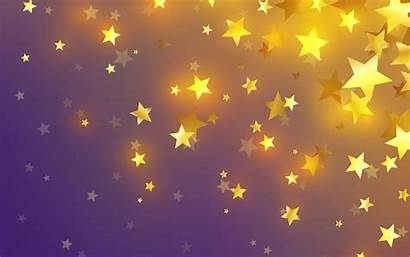 Star Background Stars Purple 4k Abstract Golden