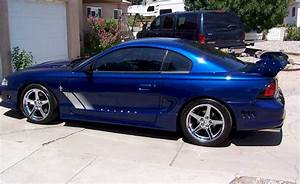 Moonlight Blue 1997 Saleen S351 Ford Mustang Coupe - MustangAttitude.com Photo Detail