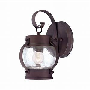 Acclaim lighting mariner collection wall mount light