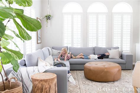 Decorating Small Living Room With Sectional by Designing A Small Living Room With A Large Sectional