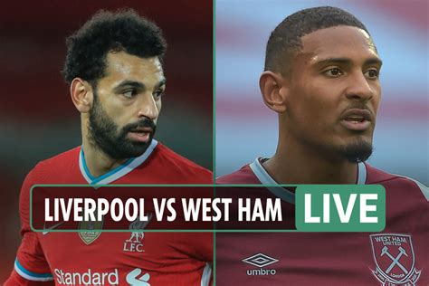 Liverpool vs West Ham: Live stream, TV channel, kick-off ...