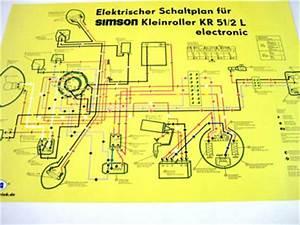 Schwalbe Elektronik Zündung : schaltplan farbposter kr51 2 l schaltpl ne elektronik ~ Jslefanu.com Haus und Dekorationen