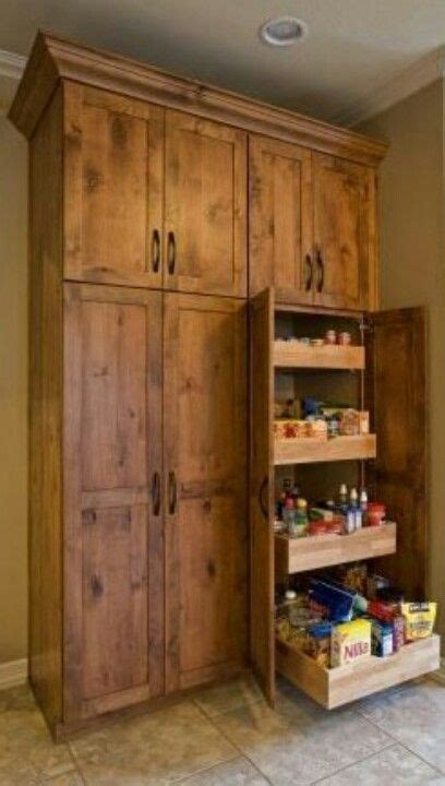 floor  ceiling pantry cabinets  pull  shelving