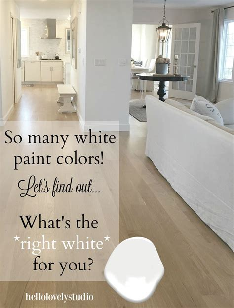 how to choose the best white paint color every time home