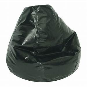 american furniture alliance adult bean bag wetlook jet With bean bags for adults sale