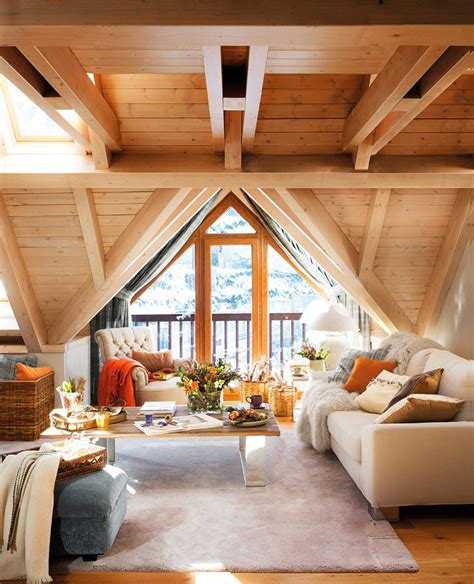 cozy home interior design small and cozy mountain tiny cottage in val d aran