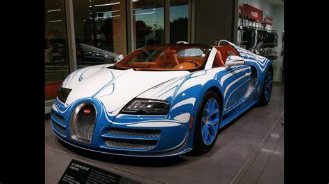 Bugatti Veyron Blue And White by Blue White Zebra Bugatti Veyron Driving Start Up Sounds