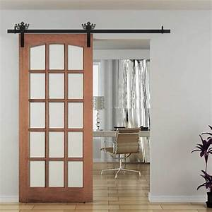 winsoon 5 18ft new decorative sliding barn door hardware With decorative barn door track