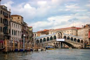 Grand Canal Venice Italy Bridge