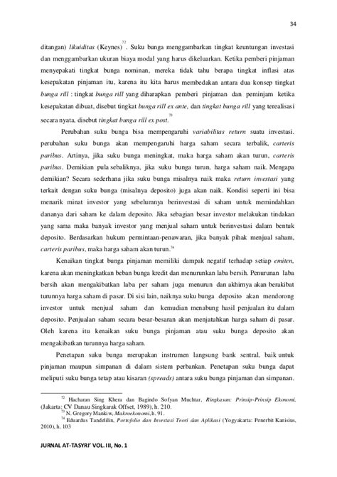 Jurnal at tasyri' volume iii, no 1, februari - juli 2011