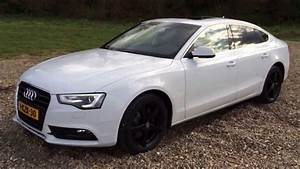 Audi A5 2013 : audi a5 sportback 2013 white black wheels 1 8tfsi b o sound sunroof youtube ~ Medecine-chirurgie-esthetiques.com Avis de Voitures