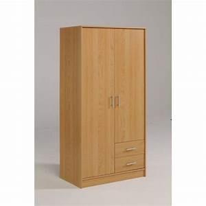 Armoire 6 Portes : armoire 2 portes 2 tiroirs les meubles olivier achat ~ Teatrodelosmanantiales.com Idées de Décoration