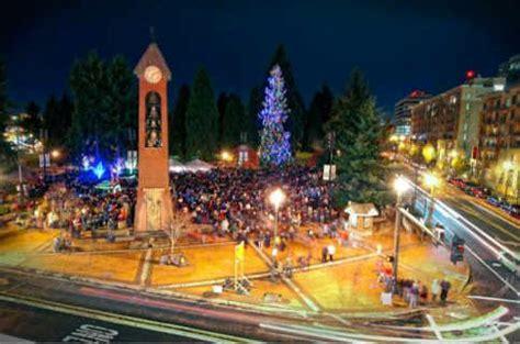 Christmas Trees Vancouver Wa by Vancouver Washington Christmas Holiday Tree Pictures