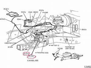 Brake Line Diagram Super Duty