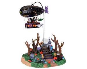lemax spooky town dreaded zeppelin with adaptor 04174