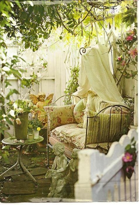 shabby chic garden decor 16 shabby chic garden designs with interior furniture top easy decor project easy idea