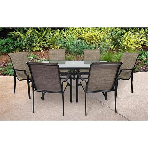 sears patio table sets agio panorama 9 patio set get top