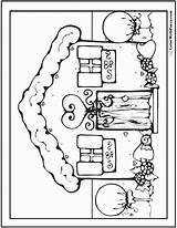 Coloring Adult Gingerbread Bounce Printable Houses Getcolorings Adults Pdfs Customize Colorwithfuzzy sketch template