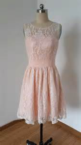 baby pink bridesmaid dresses 2015 scoop baby pink lace bridesmaid dress 2410597 weddbook