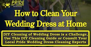Pride dry cleaners infographic for Diy wedding dress cleaning