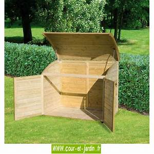 Coffre De Jardin : coffre de jardin pas cher coffre rangement jardin abri poubelle bois ~ Teatrodelosmanantiales.com Idées de Décoration