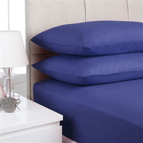 plain fitted bed sheets dyed colour all sizes single