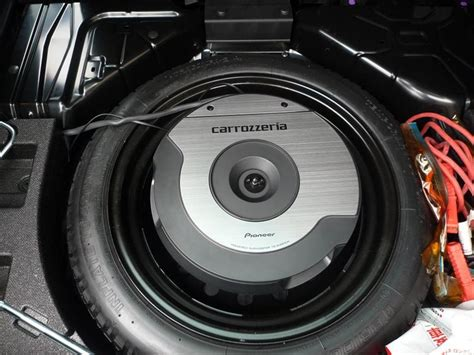 pioneer ts wx610a spare tire active subwoofer nasioc
