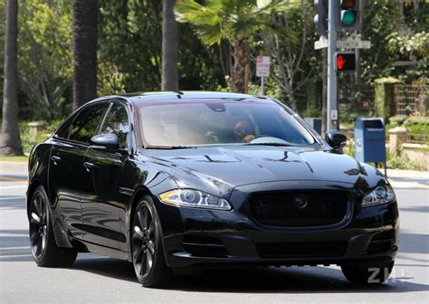 Beckham Car by Beckham S Beastly Black Jaguar Xj Gtspirit
