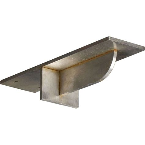 Steel Corbels by Ekena Millwork 10 In X 3 In X 2 In Stainless Steel