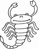 Scorpion Coloring Printable Pages Scorpions Categories sketch template