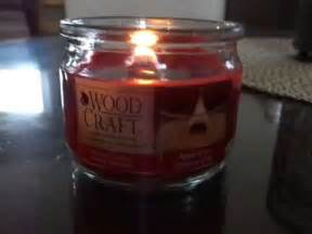 dollar tree review   wood craft candle youtube