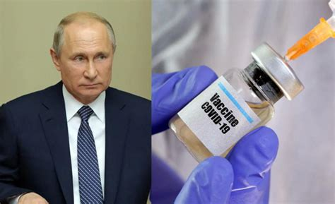 Putin: Vaksina mund të jetë ujë i kripur ose lëng ...