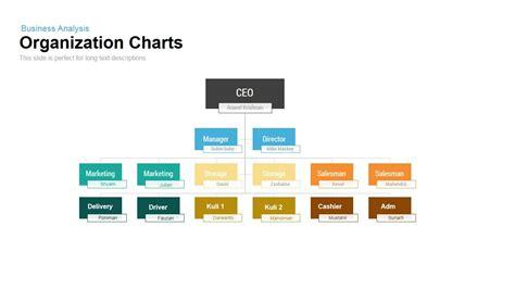 organization charts powerpoint  keynote template