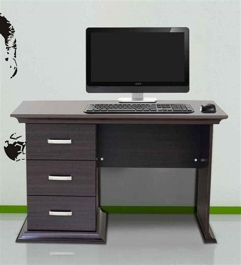wood kitchen buy kichirou study table with three drawers in wenge
