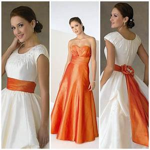 white and orange wedding dresses pictures ideas guide to With orange dresses for wedding