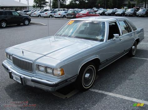 crystal ls for sale 1990 mercury grand marquis colony park ls wagon in crystal