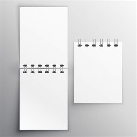 notiz tagebuch mockup design vorlage  der