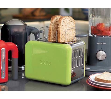 kenwood toaster kmix buy kenwood kmix ttm020gr 2 slice toaster green free delivery currys